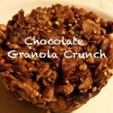 Chocolate Granola Crunch